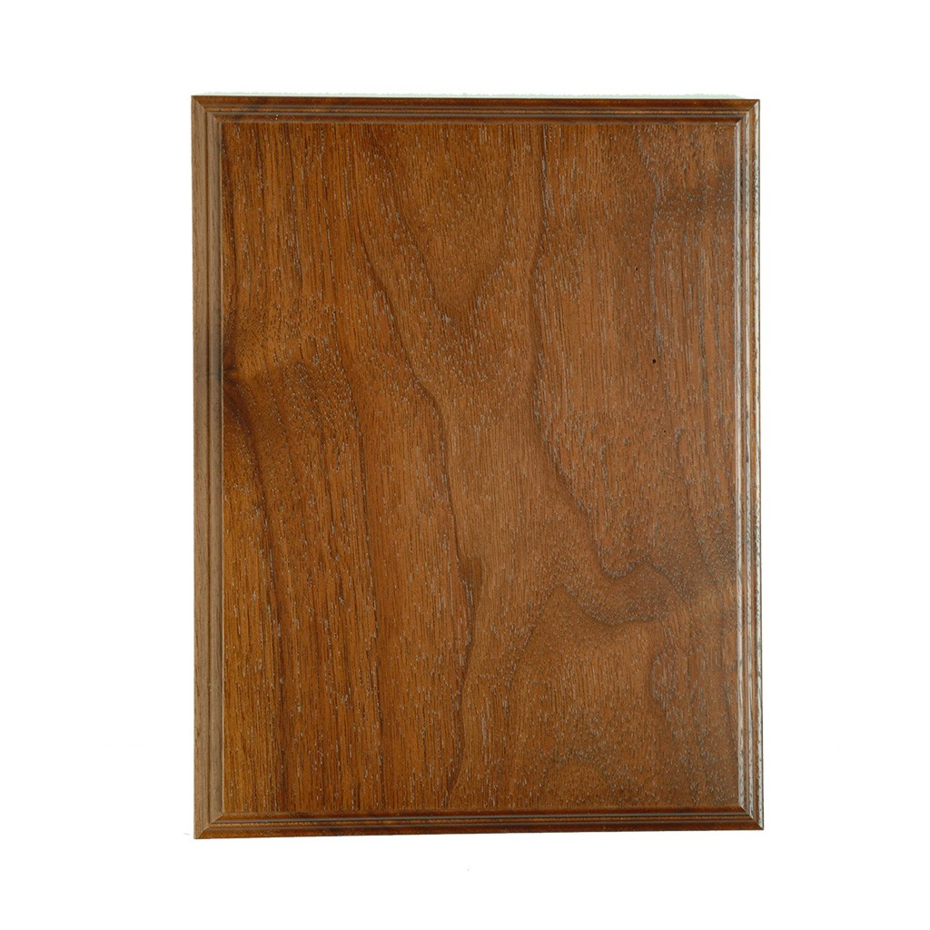505 - Solid  Walnut Plaque
